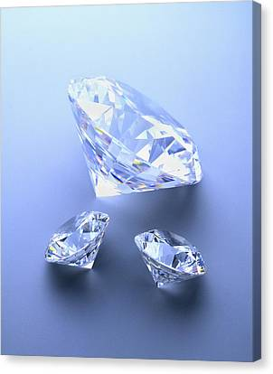Diamonds Canvas Print by Lawrence Lawry