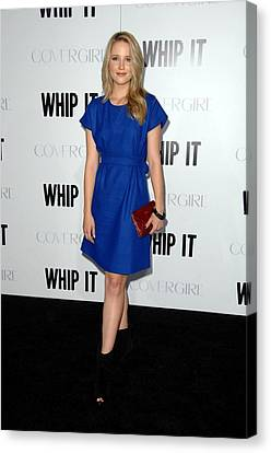 Dianna Agron At Arrivals For Whip It Canvas Print