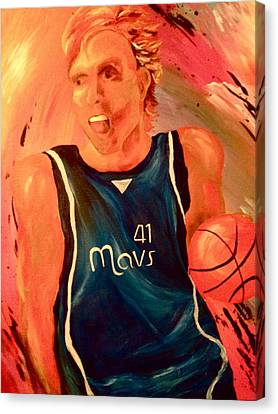 Dirk  Canvas Print by Amy Buyers
