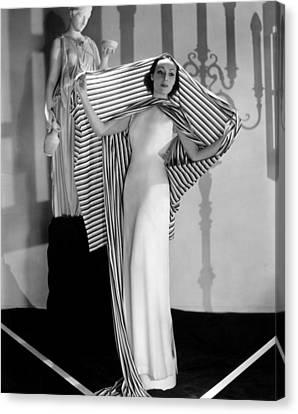 Dolores Del Rio, Ca. 1930s Canvas Print by Everett