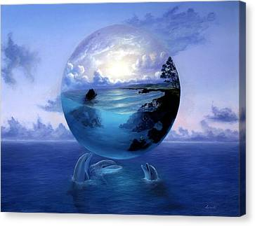 Dolphin Dreams Canvas Print