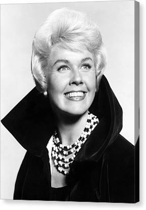 1960s Hairstyles Canvas Print - Doris Day, Ca. Early 1960s by Everett