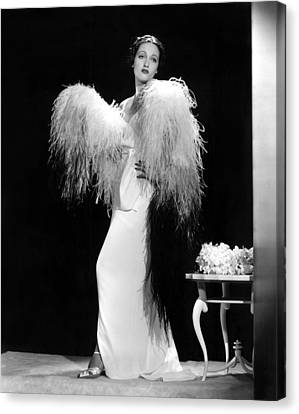 Dorothy Lamour, Paramount Pictures, 1937 Canvas Print by Everett