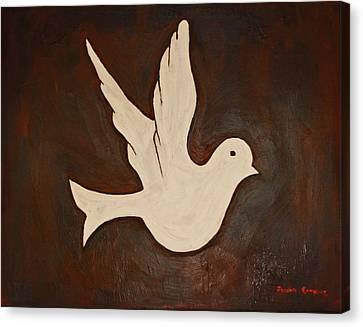 Dove Canvas Print by Jeremy Cardenas