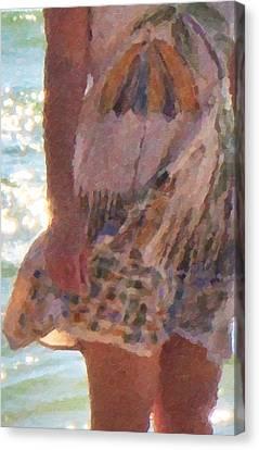 Dress Code Canvas Print
