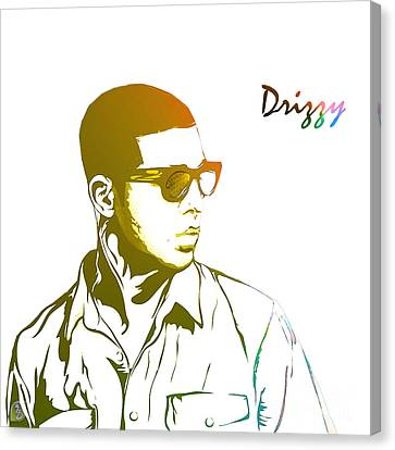 Drizzy  Canvas Print