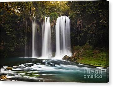 Duden Waterfalls Canvas Print by Andre Goncalves