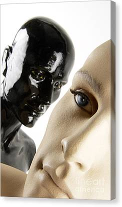Dummies Canvas Print by Bernard Jaubert