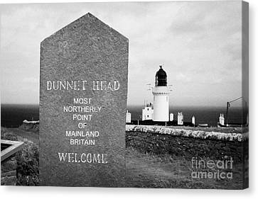 Dunnet Head Most Northerly Point Of Mainland Britain Scotland Uk Canvas Print by Joe Fox