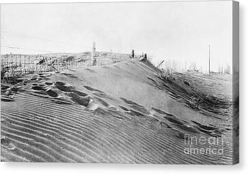 Dust Bowl, 1930s Canvas Print by Omikron