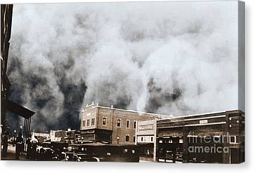 Dust Storm, April, 1935 Canvas Print by Omikron
