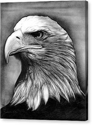 Eagle Canvas Print by Jerry Winick