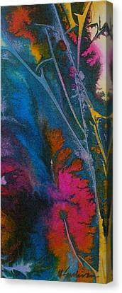 Canvas Print featuring the painting Earth Spirit by Mary Sullivan