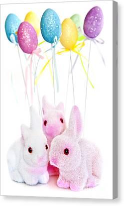 Easter Bunny Toys Canvas Print by Elena Elisseeva