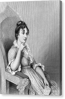 Eleanor Parke Custis Lewis (1779-1852) Canvas Print by Granger