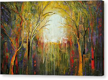 Electric Forest Canvas Print