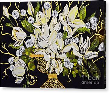 Elegance..... Canvas Print by Tanya Tanski