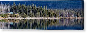 Elk Lake Oregon Canvas Print by Twenty Two North Photography