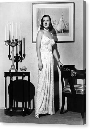 Ella Raines, 1946 Canvas Print by Everett