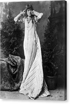 Ellen Terry (1847-1928) Canvas Print by Granger