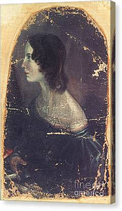 Emily Bront� (1818-1848) Canvas Print by Granger