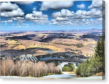 Endless Mountains Canvas Print by Adam Jewell