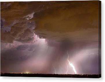 The Lightning Man Canvas Print - Energy by James BO  Insogna