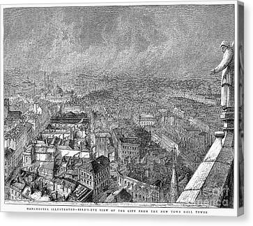 England: Manchester, 1876 Canvas Print by Granger