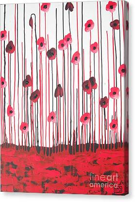 Rememberance Canvas Print - Envy by Holly Donohoe
