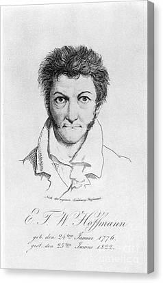 Ernst Hoffmann (1776-1822) Canvas Print by Granger