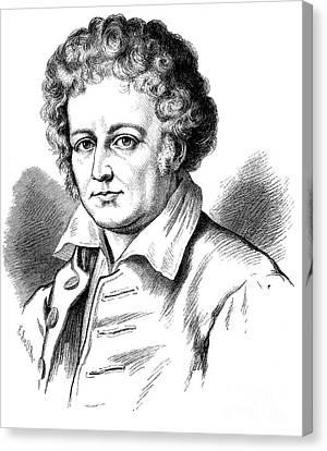 Esaias Tegner (1782-1846) Canvas Print by Granger