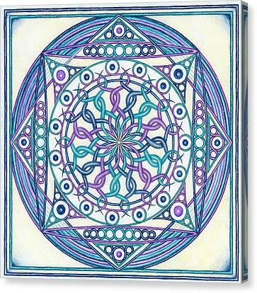 Eternity Mandala Canvas Print