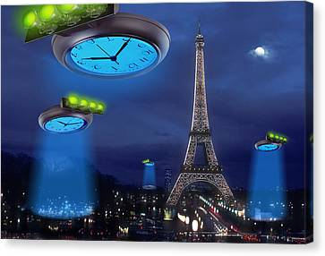 European Time Traveler Canvas Print by Mike McGlothlen