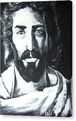 Face Of Christ Canvas Print