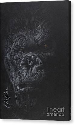 Fade To Black Canvas Print by Christian Garcia