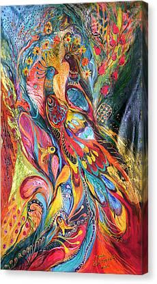 Falling In Love Canvas Print by Elena Kotliarker