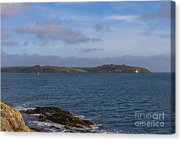 Kernow Canvas Print - Falmouth Harbour  by Brian Roscorla
