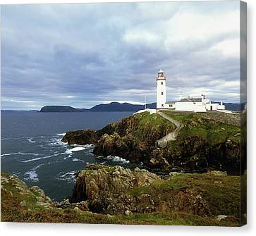 Fanad Head Lighthouse, Co Donegal Canvas Print by The Irish Image Collection