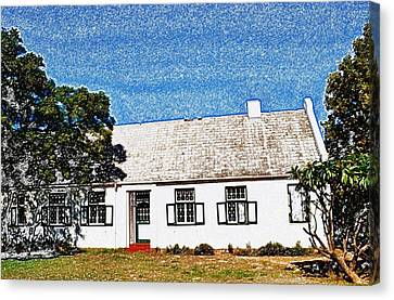 Farm House Canvas Print by Werner Lehmann