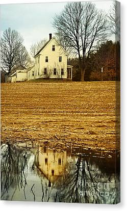 Farmhouse Canvas Print by HD Connelly