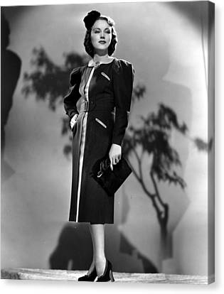 Fay Wray, Columbia Pictures, 1937 Canvas Print