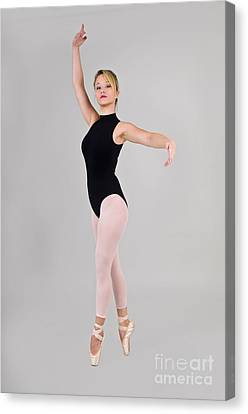 Female Dancer Canvas Print by Ilan Rosen