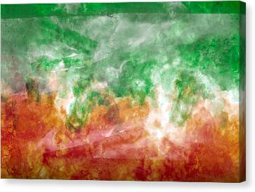 Fire Dance Canvas Print by Christopher Gaston
