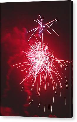 Firework Display Canvas Print by Magrath Photography