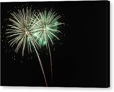 Pyrotechnic Canvas Print - Fireworks by Magrath Photography