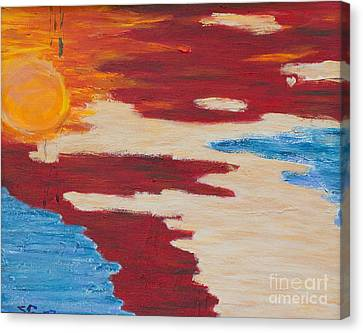 Flip Flops Optional Canvas Print by Scott Gearheart
