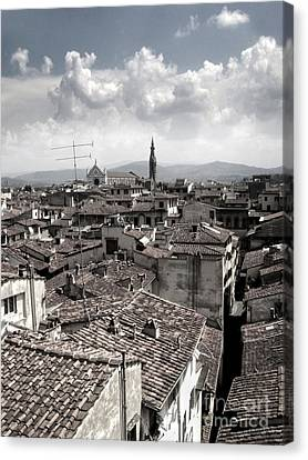 Florence Italy - 02 Canvas Print by Gregory Dyer