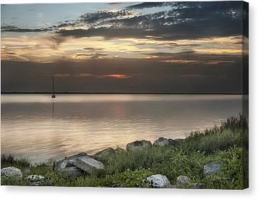 Florida Sunset Canvas Print by Cheryl Davis