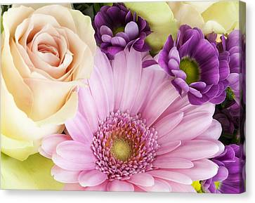 Flowers For The Girlfriend Canvas Print
