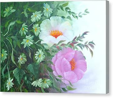 Flowers Canvas Print by Renate Behr